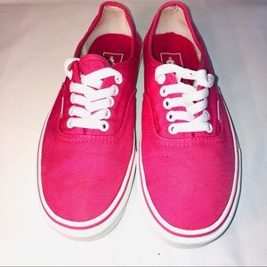 Vans Pink Ladies 7.5